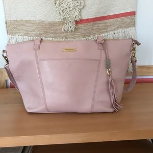 Blush pink Lily Jade Lorie diaper bag